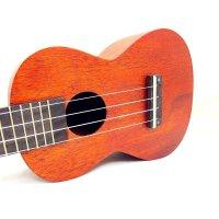 支持货到付款ASHTONS  23寸 简单素色 尤克里里 C型 尤克里里 ukulele 乌克丽丽 C型 尤克里里 合板 奥古纳面板 简洁大方 意大利AQUILA琴弦  (送:背包+拨片+教材+套弦)UKE240MH