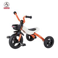boso宝仕儿童三轮车脚踏车2-6岁童车宝宝折叠小孩自行车1-3幼童