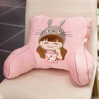 卡通床头靠枕靠垫腰枕汽车办公室沙发座椅子护腰靠背腰垫可爱抱枕