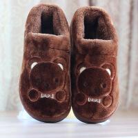男士冬季棉拖包跟特大码加大号保暖鞋厚底棉拖鞋男45 46 47 48 49