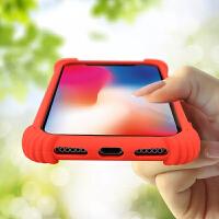 苹果X手机壳简约iphone8/7plus创意气囊防摔全包6/6s个性男女潮壳