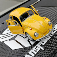 80年代复古经典原版甲壳虫大黄蜂汽车摆件创意金刚5变形车载饰品