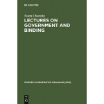 【预订】Lectures on Government and Binding: The Pisa Lectures