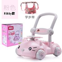 宝宝学步推车防侧翻婴儿学走路助步6-18个月学步车手推玩具车
