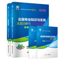 经济师中级2019金融专业教材配套试卷:金融专业知识与实务+经济基础知识(全套共2本)