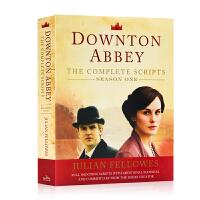 唐顿庄园季 Downton Abbey Season One The Complete Scripts 英文原版小说