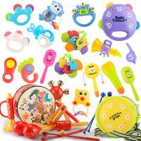 新生儿3-6-12个月手摇铃宝宝0-1岁男女孩幼儿牙胶婴儿玩具