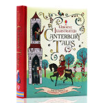英文原版绘本Illustrated Canterbury Tales n坎特伯雷故事集 Usborne出品 插图故事书