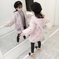 女童冬装棉衣2018新款韩版洋气棉袄中大童女孩加厚儿童装外套