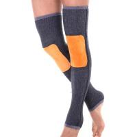 羊毛护膝保暖女士男老寒腿冬季加厚加长护腿袜套关节防寒炎老年人