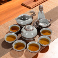 尚帝哥窑汝窑 唐韵功夫10入茶具150915-413DYPG