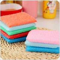 韩国海绵百洁布洗刷清洁布 厨房小工具洗碗锅布单片