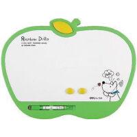 得力7807白板 学生白板 磁性白板儿童写字板 画板 280*220mm 学生用品