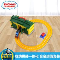托马斯小火车之提茅斯机房车库套装DGC10 合金系列轨道玩具托马斯