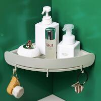 卫生间用品置物架厕所厨房浴室洗手间洗漱台免打孔壁挂三角收纳架