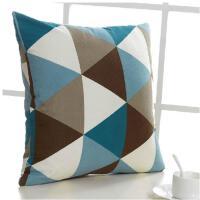 欧式大号几何图案抱枕长方形枕头沙发靠垫套不含芯家用正方形靠枕