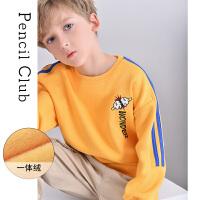 【2件3折�r:69元】�U�P俱�凡客��b2020秋冬男童加�q�L袖加厚�l衣�和�大童�A�It恤
