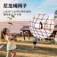 美狮龙羽毛球网架便携式标准比赛家用球移动网柱户外简易折叠室外