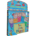 Little Scholastic: This Little Piggy: A Hand-Puppet Board Book 小小学乐手偶书:小小猪 ISBN 9780545030380