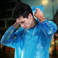 雨衣徒步旅行一次性户外套装儿童透明便携男雨披雨裤旅游