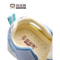 1-3岁幼儿男童小宝宝机能鞋子女夏季婴儿软底学步凉鞋镂空