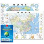 中国地图世界地图(地理知识版)