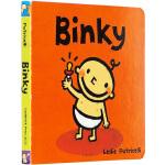 Binky 英文原版 leslie patricelli 小毛孩系列 一根毛 幼儿行为习惯培养绘本