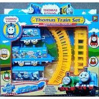 火车轨道电动8节轨道车 儿童玩具 带电池