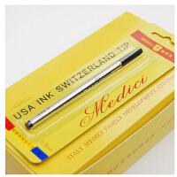 梅第奇宝珠笔签字笔 水笔梅第奇宝珠笔芯(0.5)黑色