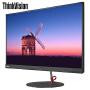 联想显示器ThinkVision X27q液晶显示器 27英寸QHD 2K分辨率纤薄窄边IPS硬屏广视角 全高清金属支架显示器,99%sRGB色域