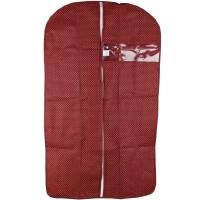 万波龙 加厚透明窗防尘罩 服装罩 西服罩 西服收纳 大号60*128cm 买10送1