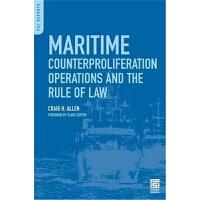 预订Maritime Counterproliferation Operations and the Rule of L