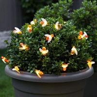 太阳能灯串LED彩灯闪灯串灯户外星星灯装饰庭院阳台花园布置树灯