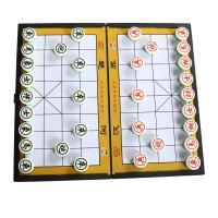 大富翁 桌面游戏  磁性折叠便携式跳棋8062磁石象棋(大号)