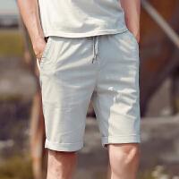 2015夏季新款男装裤子休闲短裤 男士五分裤薄款修身沙滩裤子