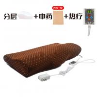 治颈椎枕头修复颈椎护颈枕家用电热疗热敷按摩枕头t定制