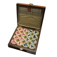 好吉森鹤/北京线上50元包邮//方盒中国象棋5.0CM 亚克力棋子中国象棋 大号象棋黑色或白色棋子*/实木盒装/益智棋具----------------------1套+搭送品47856