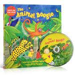 顺丰发货 The Animal Boogie(附CD)廖彩杏推荐韵文与歌谣 建立快乐记忆 英文原版绘本 大开本亲子读物