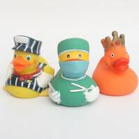 水玩具 宝宝洗澡大黄鸭戏水玩具儿童橡皮鸭捏捏叫婴儿游泳喷水小鸭子