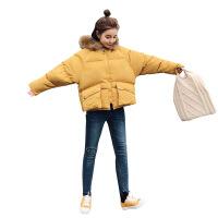 反季羽绒女冬短款学生宽松bf加厚面包服韩版棉袄新款外套