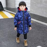 儿童棉服秋冬装2018新款男童韩版中长款棉袄宝宝加厚冬季棉衣外套
