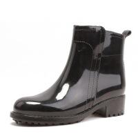 雨鞋女短筒时尚休闲女式水靴胶鞋春夏套鞋防滑水鞋户外雨靴