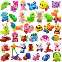 发条玩具 婴幼儿童男女宝宝小孩发条玩具上劲弦链青蛙动物 深紫色 小蜗牛