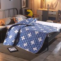 卡通薄床垫床褥保护垫褥子双人1.2米1.5m1.8垫被防滑可水洗床护垫