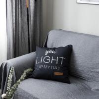 地毯客厅北欧ins简约现代抱枕飘窗沙发靠垫办公室午休靠枕床品搭配装饰枕