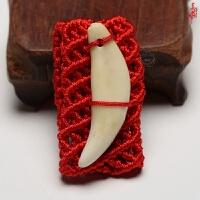 本命年红绳转运 桃木挂件 保平安皮带扣 腰挂 男士专用