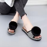女士拖鞋夏季室内居家鞋防滑软底韩版家居亚麻家用厚底女夏凉托鞋