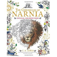 英文原版 纳尼亚传奇填色书Chronicles of Narnia Official Coloring Book, T