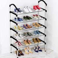 鞋架子简易门口放家用经济型收纳防尘鞋柜多层宿舍大学生室内好看