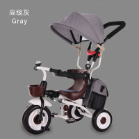 儿童三轮车脚踏车1-3周岁轻便可折叠宝宝自行车婴儿手推车zf05